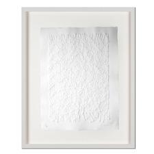 Günther Uecker – Strahlung - Prägedruck auf 300-g-Büttenpapier  Auflage: 100 Exemplare   Exemplar: e. a.  Blattgrösse (B x H): 60 x 76 cm   Masse: gerahmt 78 x 94 cm
