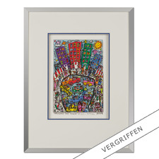 "James Rizzi: ""Around the town"" - Handsignierte 3D-Papierskulpturen des verstorbenen James Rizzi. 50 von 350 Exemplaren – exklusiv bei Pro-Idee."