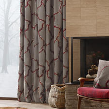 """Vorhang """"Bordino"""", 1 Vorhang - Landhausstil, luxuriös wie nie. Präsentiert in der neuen Kollektion """"Chalet Luxe"""" von Sahco."""