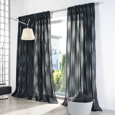 """Vorhang """"Amber"""", 1 Vorhang - Fil-Coupé: Web-Rarität für faszinierende Lichteffekte und ungewöhnliche Aus- und Einblicke."""