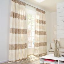 """Vorhang """"Filo"""", 1 Vorhang - Der Technik- und Dessin-Mix nobelster Designerstoffe – zu einem sehr erschwinglichen Preis."""