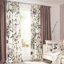 """Vorhang """"Shanghai Garden"""", 1 Vorhang - Die typische Opulenz von Designers Guild – in ungewohnt zurückhaltenden Farben."""