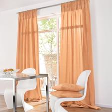 """Vorhang """"Shantung"""", 1 Vorhang - Die Optik erlesener Shantung-Seide.  Aber lichtunempfindlich und pflegeleicht."""