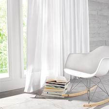"""Vorhang """"Alpes"""", 1 Vorhang - Leinen-Optik für den Natural-Living-Trend. Unempfindlich gegen Knitterfalten."""