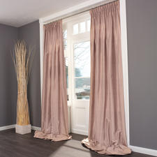 """Vorhang """"Madras"""", 1 Vorhang - Kostbare Dupionseide – aussergewöhnlich farbintensiv und brillant."""