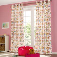 Vorhang Children - 1 Stück - Kinderlachen, Eiscremefarben ...  Eindeutiger Favorit der Kinder (und Liebling der Eltern).