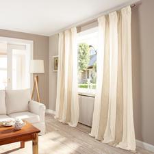 """Vorhang """"Minuetto"""", 1 Vorhang - Die wohl aufwändigste Art von Blockstreifen kommt aus dem Atelier von Castello del Barro."""