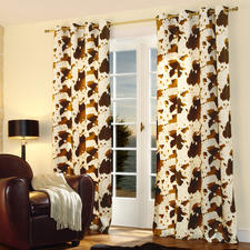 Vorhang Cow - 1 Stück - Nur die besten Wirkfelle sind fein genug für einen weich fallenden Vorhang.