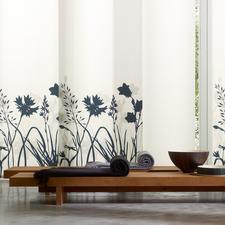 """Flächenvorhang """"Fortuna"""", 1 Flächenvorhang - Ein raffiniertes Spiel mit Licht und Schatten auf noblem japanischem Shoji-Papier."""
