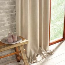 """Vorhang """"Exeter"""", 1 Vorhang - Im Trend: Grobe Struktur. Natürliche Haptik. Und Farben wie Sand und Meer."""
