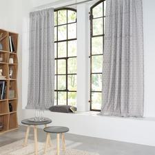 """Vorhang """"Aurelia"""", 1 Vorhang - Natürlicher Leinen-Look bringt wohnliches Flair in alle Räume."""