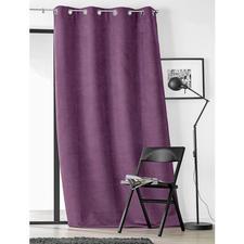 """Vorhang """"Snake"""", 1 Vorhang - Samtweich und luxuriös wie Wildleder. Aber deutlich günstiger."""