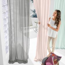 """Vorhang """"Cashmina"""", 1 Vorhang - Luxuriöse Qualität mit echtem Kaschmir. Aus der neuen Kollektion """"Slow Design"""" von Sahco, Nürnberg."""