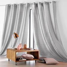 """Vorhang """"Faience"""", 1 Vorhang - Der Signature-Look luxuriöser Designermarken – jetzt als stilvolle Fensterdekoration."""