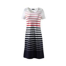 Saint James Bretagne-Mikrofaser-Kleid - Das Bretagne-Kleid 2.0 von Saint James: Eleganter, unkomplizierter und strapazierfähiger.