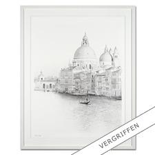 Koshi Takagi – Venedig - Fotorealistische Bleistiftzeichnung mit über 1 Million handgemalten Strichen. Die dritte Schwarz-Weiss-Edition Koshi Takagis (die erste ist bereits ausverkauft). 30 Exemplare.