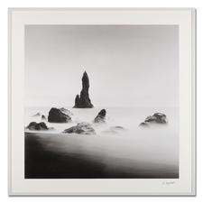 """Bedrock #2"", gerahmt 120 x 120 cm."