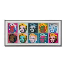 """Andy Warhol – Marilyn Monroe Tableau (1967) - Andy Warhol """"Marilyn Monroe Tableau"""" (1967) als High-End Prints™. Endlich eine Qualität, die dem grossen Meisterwerk tatsächlich gerecht wird. Masse: gerahmt 153 x 73 cm"""