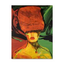 Beatrice Bues-Bohl – Bisou - Mit 12 Karat Gelbgold veredelt – die zweite Unikatserie von Beatrice Bues-Bohl. 80 Exemplare. Masse: 100 x 130 cm