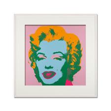 Andy Warhol – Marilyn rosa - Sunday B. Morning Siebdruck auf 1,52 mm starkem Museumskarton. Masse: gerahmt 112 x 112 cm