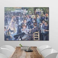 """""""Bal du Moulin de la Galette"""", 175 x 131 x 4 cm."""