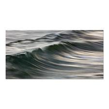 Manolo Chrétiens – Dossen - Manolo Chrétiens perfekte Wellen auf handgeschliffenen Aluminiumplatten. 30 Exemplare. Masse: 110 x 70 cm