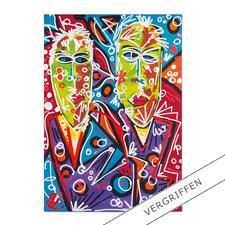 """Leon Löwentraut: """"Brothers"""" - Leon Löwentraut: Investition in ein außergewöhnliches Talent. Zweite exklusive Pro-Idee Edition des Shootingstars der deutschen Kunstszene."""