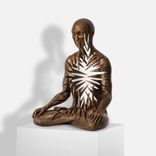 Sukhi Barber – Radiance - Sukhi Barbers neueste Unikatserie. (Ihre erste war nach wenigen Wochen ausverkauft.) 16 Bronze-Skulpturen. Exklusiv bei Pro-Idee. Masse: 19 x 25 x 13 cm
