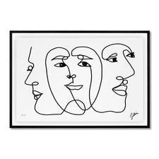 Andrés Ribón Troconis – Three minds are better than one - Andrés Ribón Troconis: Der Geheimtipp aus Südamerika. Erste Edition in Europa. Exklusiv bei Pro-Idee. 30 Exemplare. Masse: gerahmt 100 x 70 cm