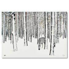 Robert Jahns – Snow Zebra - Robert Jahns: Einer der populärsten Instagram-Stars. 40.000 Likes! Snow Zebra – jetzt als Leinwand-Edition. Exklusiv bei Pro-Idee. Masse: 100 x 70 cm