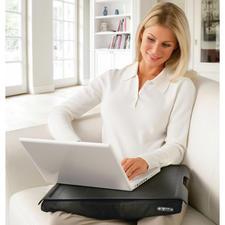 Knietablett - Das gepolsterte Knietablett ist die ideale Unterlage für Laptop und Lektüre. Oder für Ihr Frühstück im Bett.