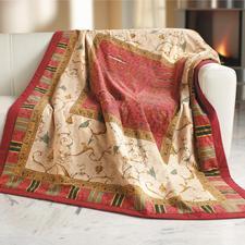 """Granfoulard®-Textilien """"Oplontis"""" - Traumschön als prachtvolles Plaid und dekorative Tischwäsche."""
