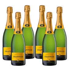 Champagne Drappier Carte d'Or, 6 Flaschen à 0,75l - Insidertipp. Der klassisch, kraftvolle Champagner.