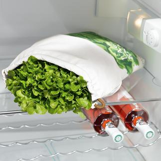 Salat-Frischebeutel Hält Ihren Salat bis zu 10-mal länger frisch.