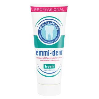 """Ultraschall-Zahncreme """"Fresh"""", 75 ml Keine """"schmirgelnden"""" Stoffe, die Zähnen und Zahnfleisch schaden."""