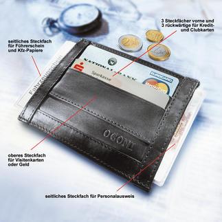 OCONI-Dokumentenbörse Die Dokumentenbörse ist kaum grösser als eine Zigarettenschachtel.