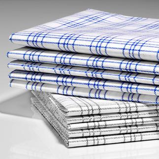 Hightech-Tücher, 5er-Set Ideal zum Abtrocknen. Perfekt zum feuchten Wischen.