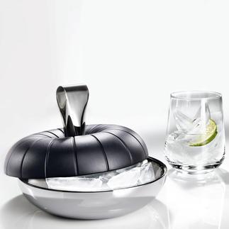 3-in-1 Eiswürfelbereiter Genial einfach: Ein Dreh und 16 dreieckige Eiswürfel kühlen Ihre Drinks.