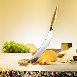 Original Holländisches Käsemesser Kinderleicht wiegen statt mühsam schneiden. Von Boska.