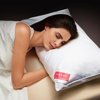 Hefel Cool-Kissen Tiefer, erfrischender Schlaf in heissen Nächten. Leitet Wärme von Kopf, Gesicht und Nacken weg.