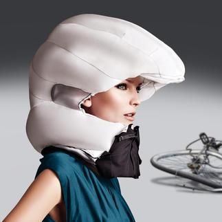 Hövding Airbag-Fahrradhelm 2.0 Der wohl sicherste (und attraktivste) Schutz vor Kopfverletzungen, den es gibt.