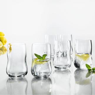Holmegaard Becherglas, 6er-Set Wir kennen kein besseres Design-Wasserglas zu diesem Preis. Holmegaard, königliches Glas aus Dänemark.