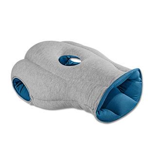 Ostrich Pillow Nur überstreifen – schon wohltuende Ruhe. Polstert ab vor Lärm und Licht. Schützt und stützt Ihren Kopf komfortabel.
