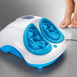 Fuss-Reflexzonen-Massagegerät Nur selten kombiniert: Shiatsu- und Air-Massage sowie Wärmefunktion in einem professionellen Gerät.