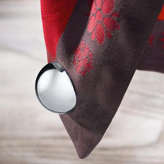 """Tischtuchmagnete """"Kugel"""", 4er-Set Endlich stilvolle Tischtuch-Gewichte. Hochglanzpolierte Magnete statt häufig nur Plastik."""