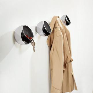 Garderobenkugel Kleiderhaken, Utensilo und Designobjekt in einem.