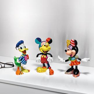 Pop-Art Figur Disney Fröhlich, kultig, farbenfroh handbemalt. Immer einzigartig.