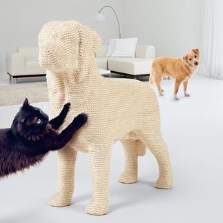 """Design-Kratzbaum """"Hund"""" Kratzbaum? Aussergewöhnliches Deko-Objekt? Dieser Labrador ist beides."""
