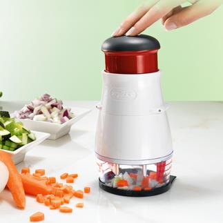 Zyliss Gemüsehacker Noch gleichmässiger, noch schneller, noch leichter zu reinigen.