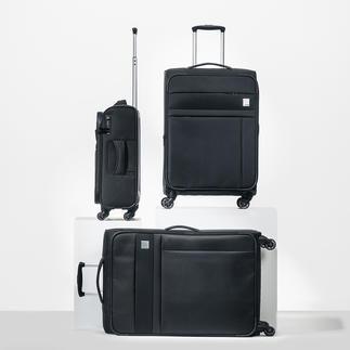 Oconi Dobby-Nylon-Trolley Robustes Dobby-Nylon. Elegantes Design. Praktische Features. Viel Stauraum. Von Oconi.